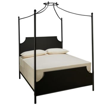 Magnolia Home Queen Iron Canopy Bed Product Image