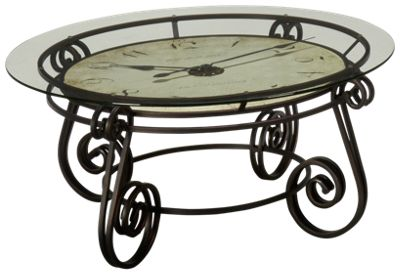 Howard Miller Ravenna Round Clock Cocktail Table. Product Image. Product  Image Unavailable ...