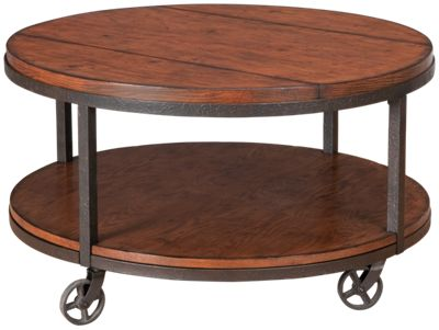 Hammary Baja Round Cocktail Table. Product Image. Product Image Unavailable