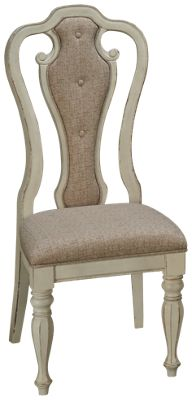 Liberty Furniture Magnolia Manor Splat Back Side Chair