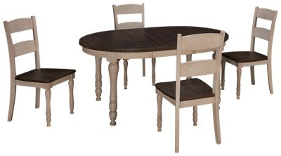 Bon Jofran Madison County 5 Piece Dining Set. Product Image. Product Image