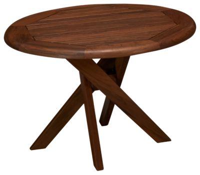 Jensen Leisure Ipe Jensen Leisure Ipe Topaz Round Side Table   Jordanu0027s  Furniture