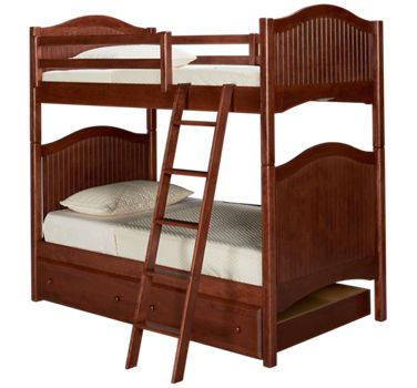 Oak Designs Surf City Oak Designs Surf City Twin Over Twin Trundle