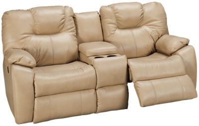 Beau Southern Motion Avalon Power Sofa Recliner With Console. Product Image.  Product Image; Product Image