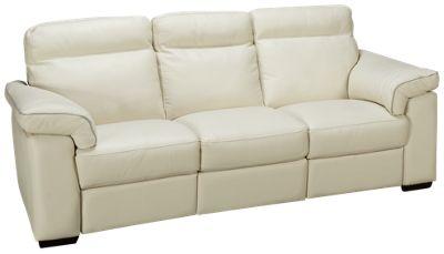 Natuzzi Editions Delaney Leather Power Sofa Recliner. Product Image.  Product Image