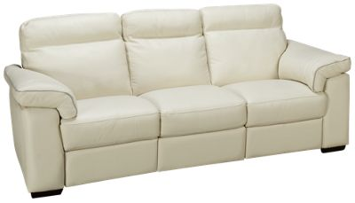Beau Natuzzi Editions Delaney Leather Power Sofa Recliner. Product Image.  Product Image