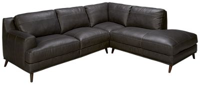 Soft Line Caruso Soft Line Caruso 2 Piece Leather Sectional