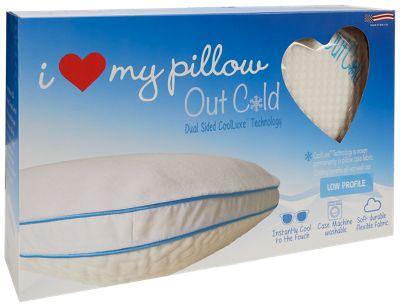 Love My Pillow Out Cold Low Profile Pillow Jordan S
