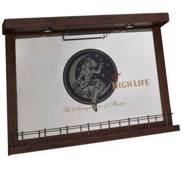 East Coast Innovators Miller High Life Wall Bar Mirror Product Image Unavailable